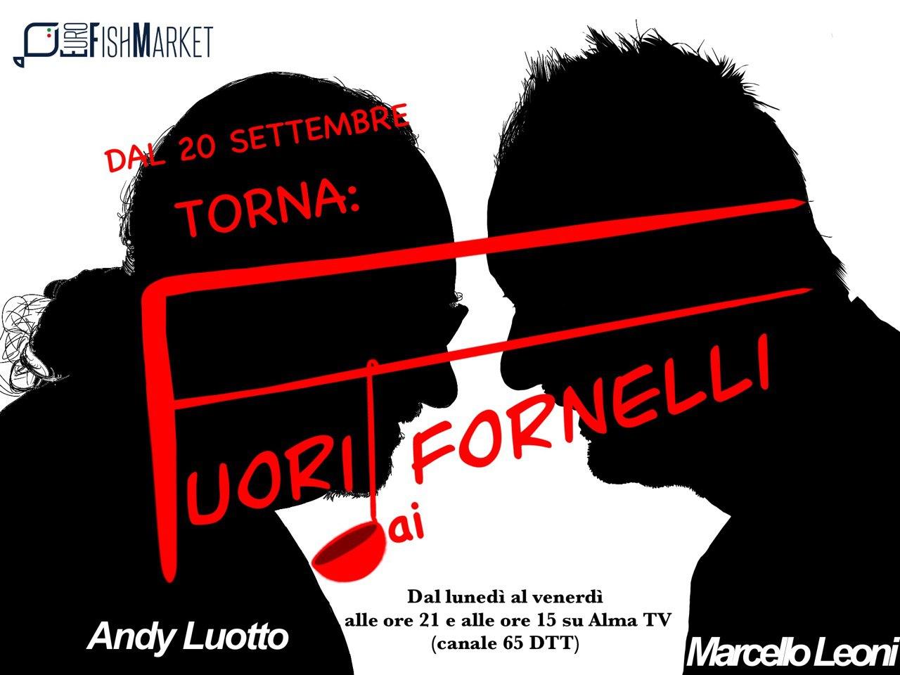 """Torna """"Fuori"""" dai fornelli su Alma Tv"""